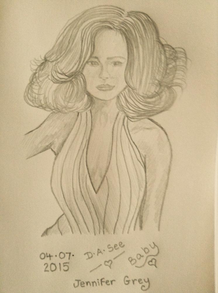 Jennifer Grey by dasee